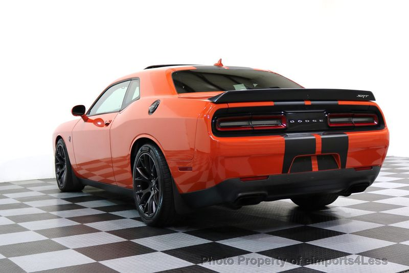 2016 Dodge Challenger CERTIFIED CHALLENGER SRT HELLCAT 6 SPEED - 17031804 - 46