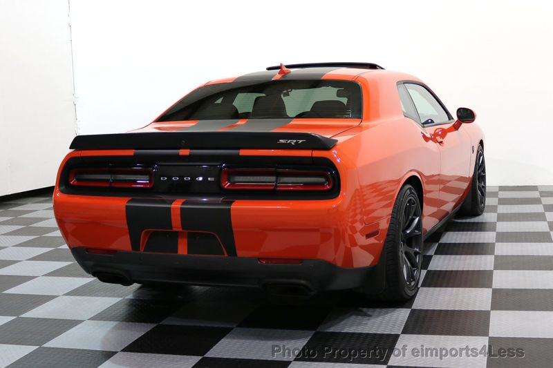 2016 Dodge Challenger CERTIFIED CHALLENGER SRT HELLCAT 6 SPEED - 17031804 - 47