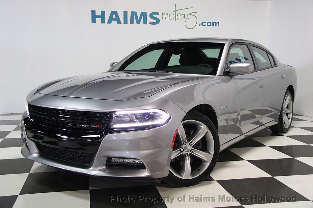 2016 used dodge charger 4dr sedan r t rwd at haims motors hollywood serving fort lauderdale. Black Bedroom Furniture Sets. Home Design Ideas