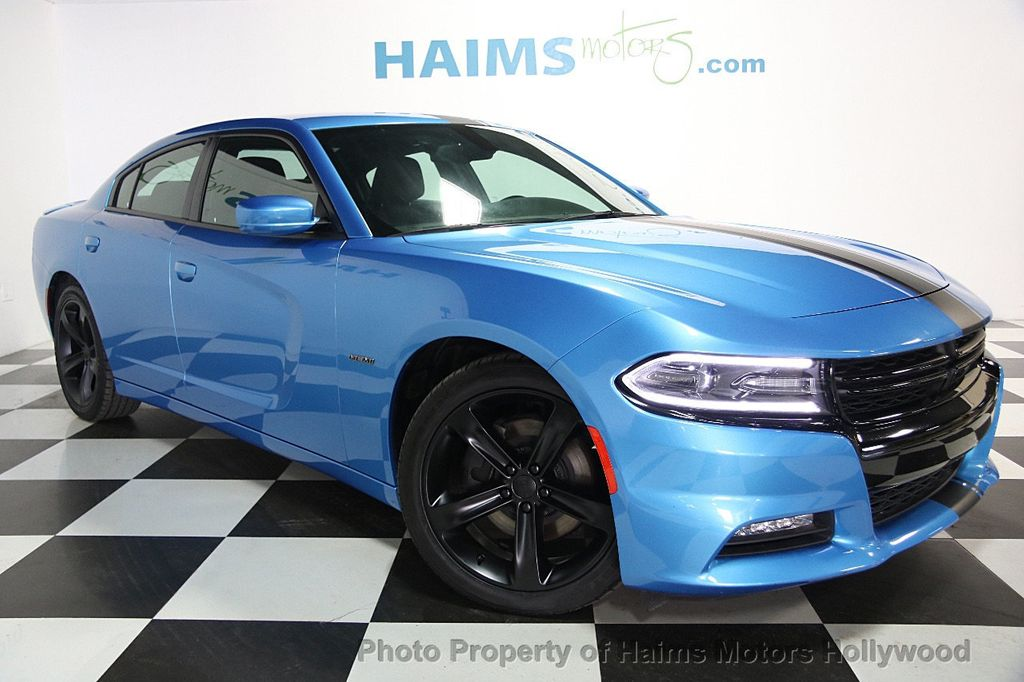 2016 Used Dodge Charger 4dr Sedan R T RWD at Haims Motors Hollywood