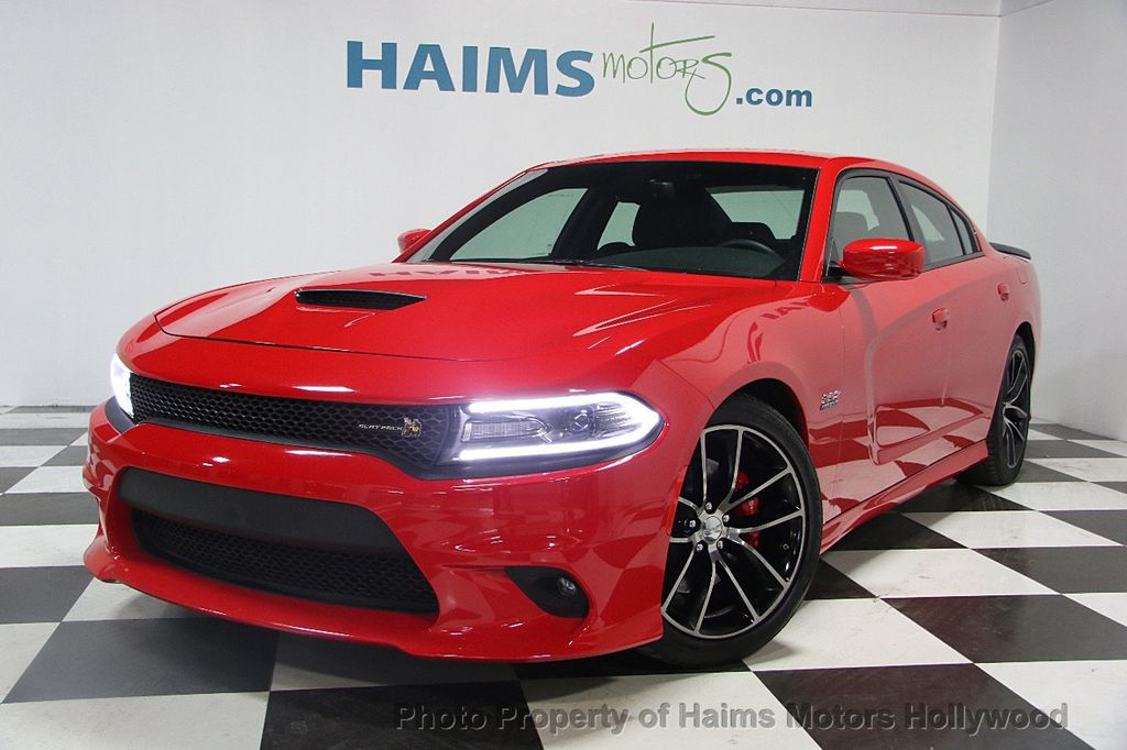 2016 used dodge charger 4dr sedan r t scat pack rwd at. Black Bedroom Furniture Sets. Home Design Ideas