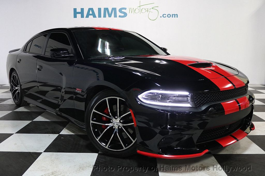 2016 used dodge charger 4dr sedan r t scat pack rwd at haims motors ft lauderdale serving. Black Bedroom Furniture Sets. Home Design Ideas