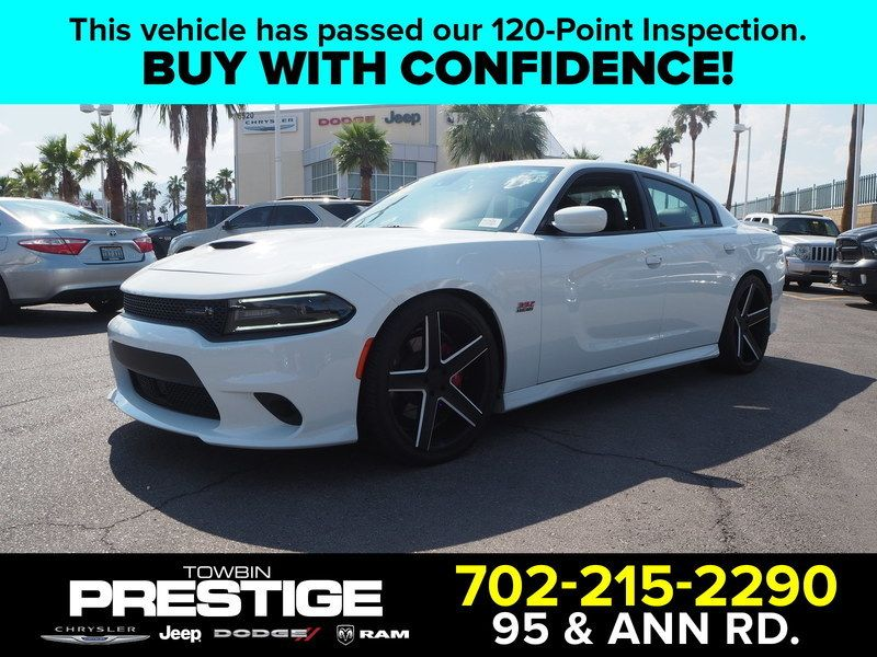 2016 Dodge Charger 4dr Sedan R/T Scat Pack RWD - 17749432 - 0