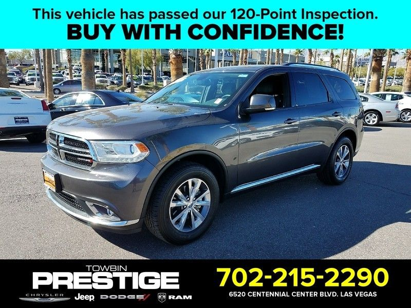 2016 Dodge Durango 2wd 4dr Limited Suv For Las Vegas Nv Motorcar