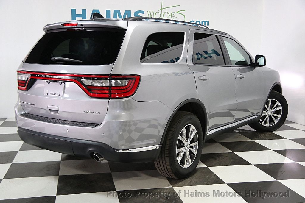 2016 used dodge durango awd 4dr limited at haims motors serving fort lauderdale hollywood