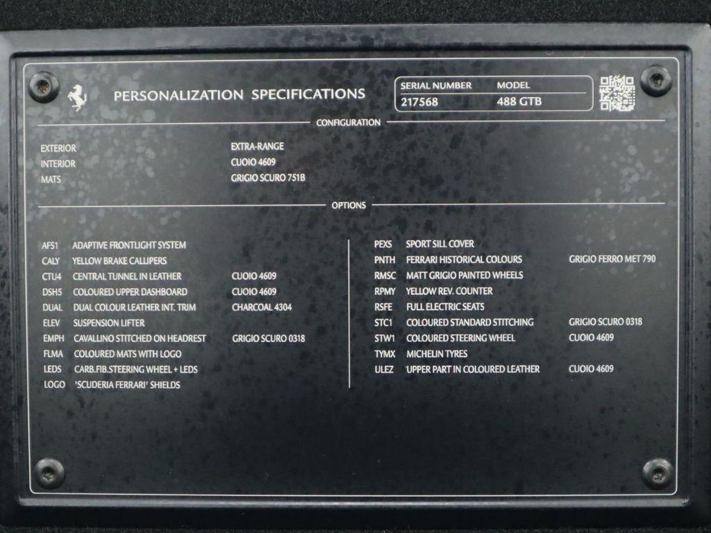 2016 Ferrari 488 GTB 2dr Coupe - 17842617 - 25