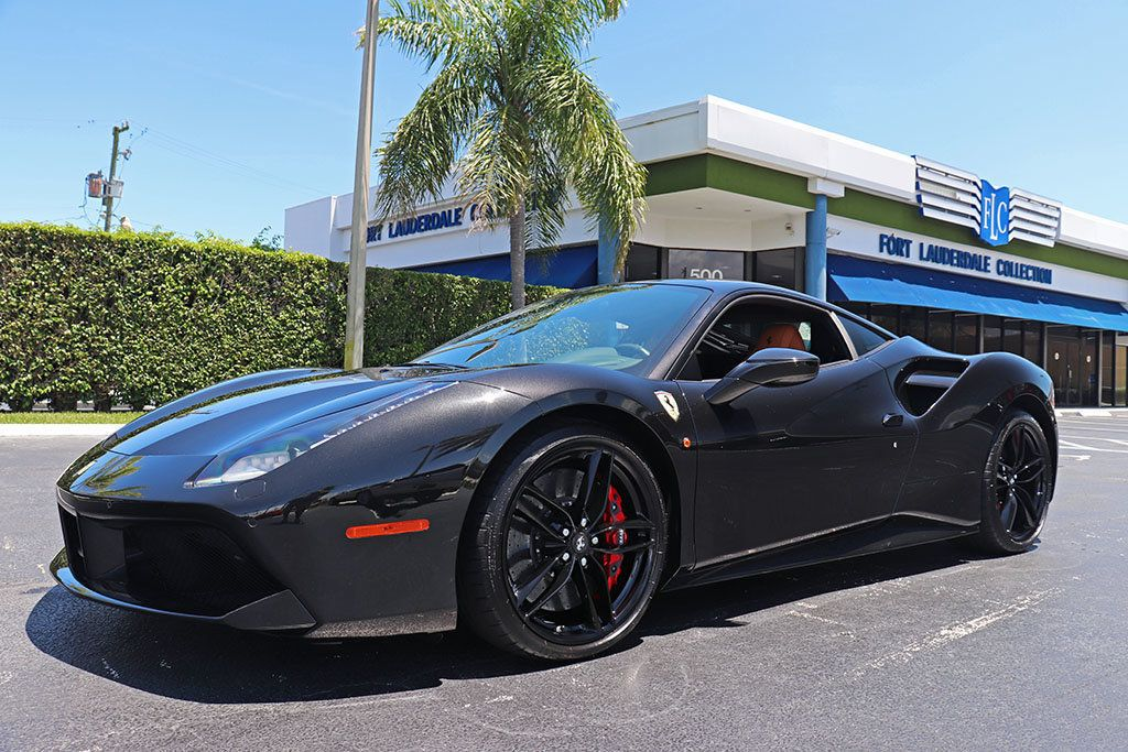 2016 Used Ferrari 488 Gtb 2dr Coupe At Fort Lauderdale Collection