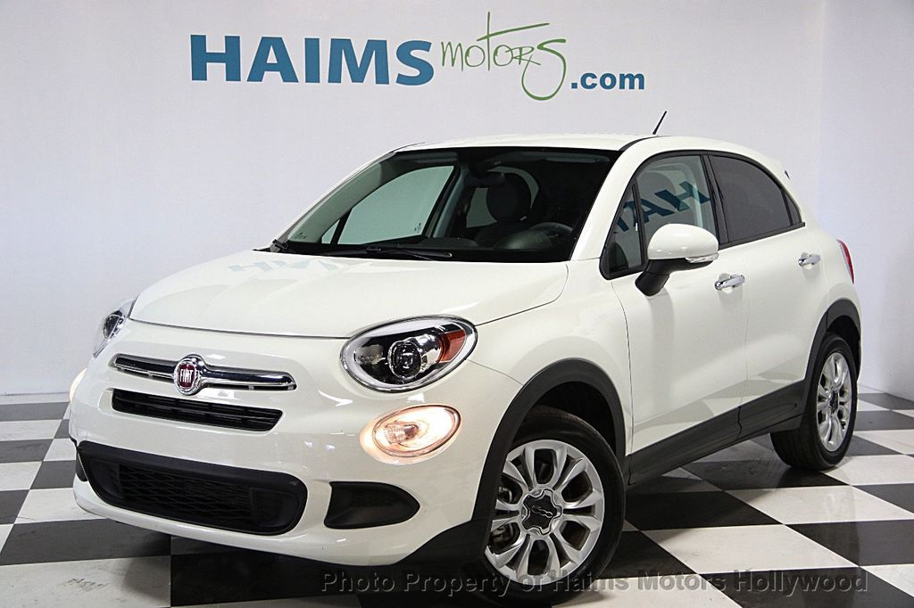 2016 used fiat 500x fwd 4dr easy at haims motors serving fort lauderdale hollywood miami fl. Black Bedroom Furniture Sets. Home Design Ideas