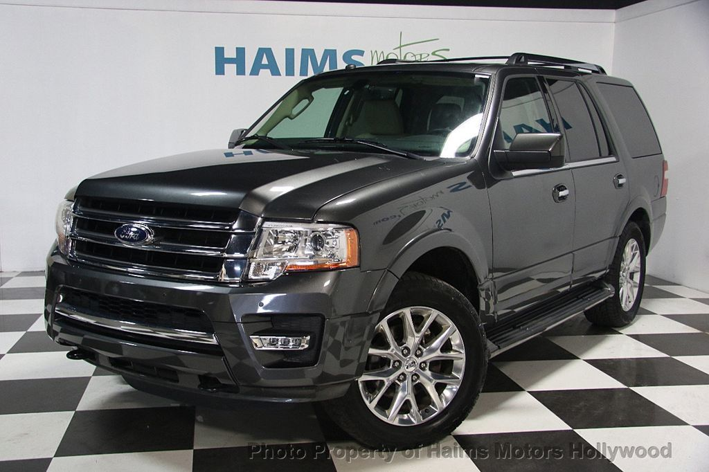 2016 used ford expedition 4wd 4dr limited at haims motors serving fort lauderdale hollywood. Black Bedroom Furniture Sets. Home Design Ideas