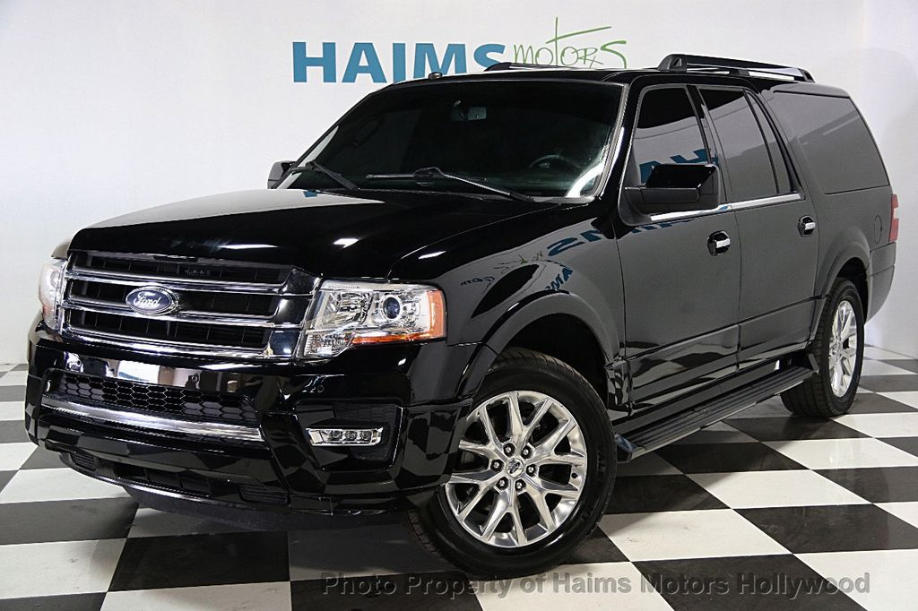 Ford Expedition El >> 2016 Used Ford Expedition EL 2WD 4dr Limited at Haims Motors Serving Fort Lauderdale, Hollywood ...
