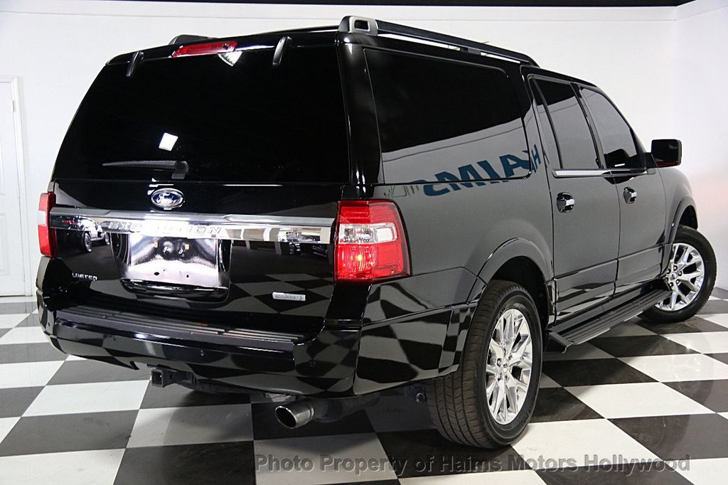 2016 used ford expedition el 2wd 4dr limited at haims motors serving fort lauderdale hollywood. Black Bedroom Furniture Sets. Home Design Ideas