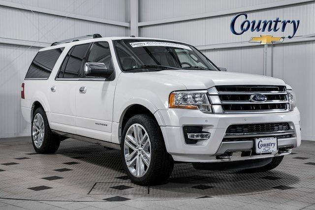 2016 Ford Expedition El >> 2016 Used Ford Expedition El 4wd 4dr Platinum At Country Auto Group Serving Warrenton Va Iid 19659277