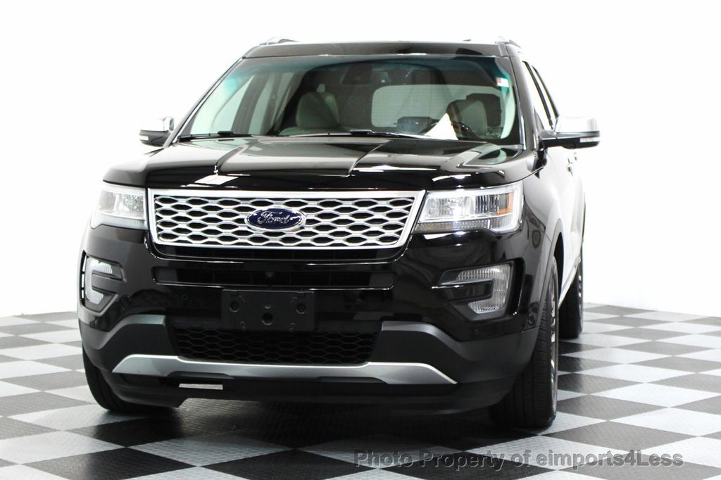 2016 Ford Explorer CERTIFIED EXPLORER 4WD PLATINUM NAVIGATION - 16138399 - 13