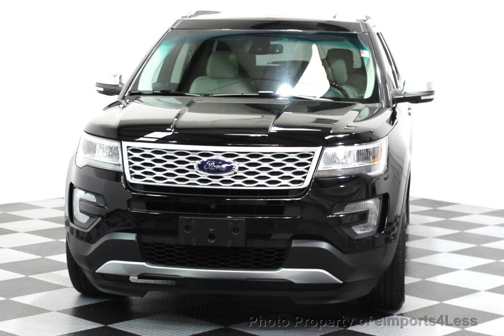 2016 Ford Explorer CERTIFIED EXPLORER 4WD PLATINUM NAVIGATION - 16138399 - 14