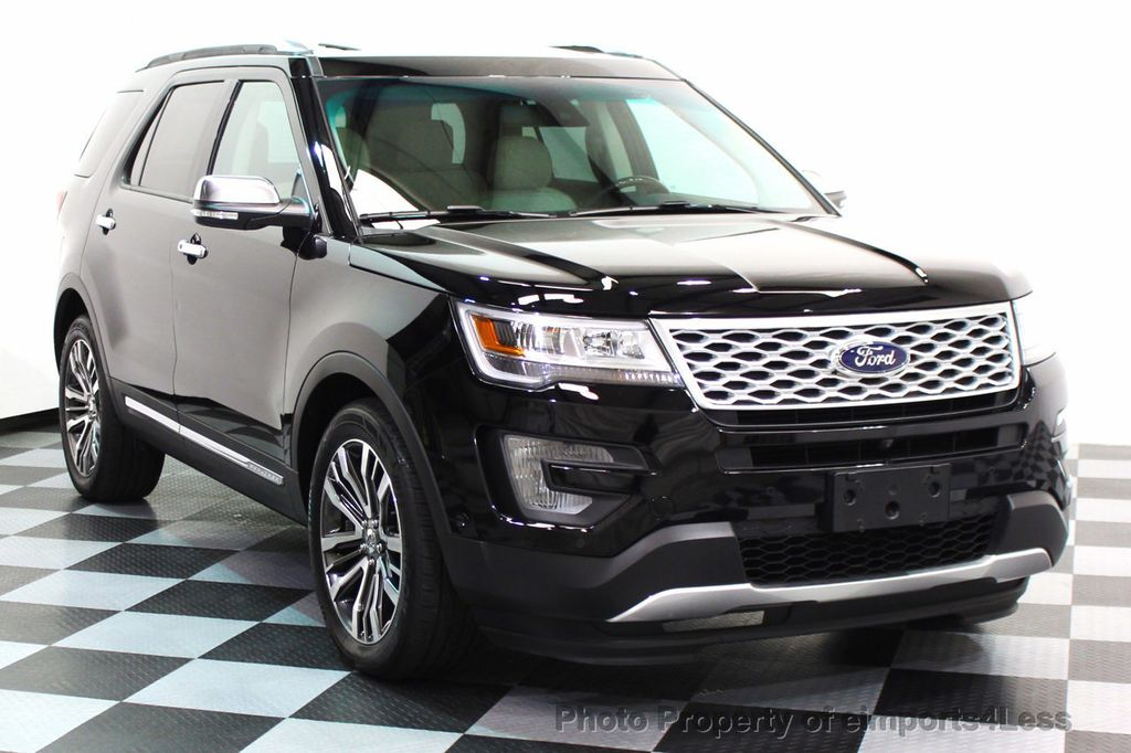 2016 Ford Explorer CERTIFIED EXPLORER 4WD PLATINUM NAVIGATION - 16138399 - 15