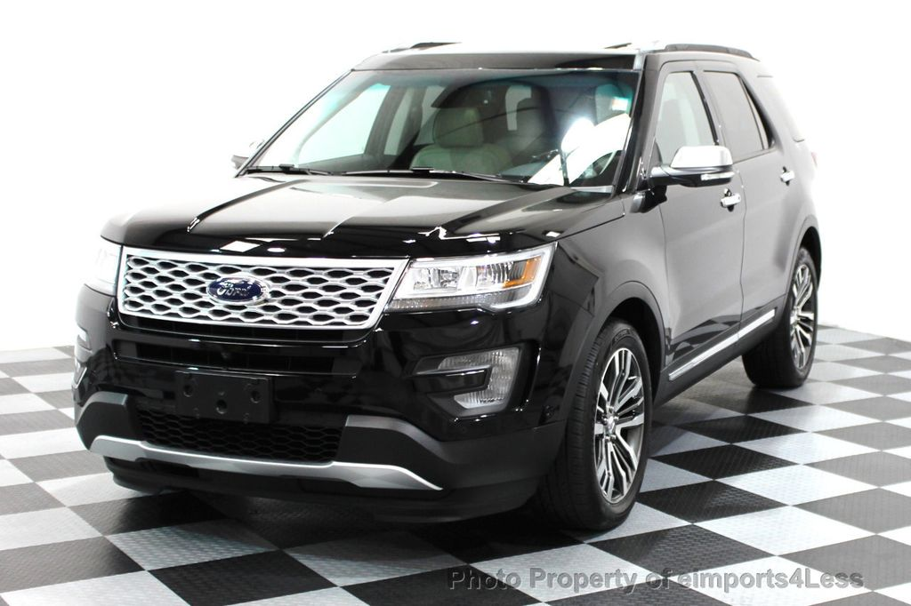 2016 Ford Explorer CERTIFIED EXPLORER 4WD PLATINUM NAVIGATION - 16138399 - 23