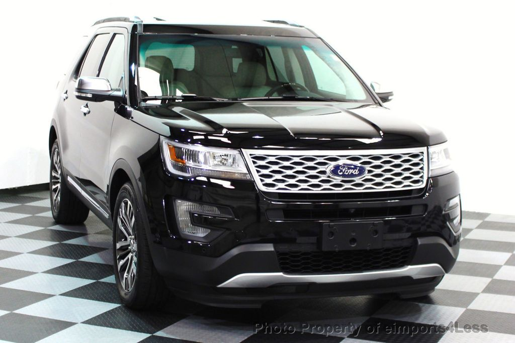 2016 Ford Explorer CERTIFIED EXPLORER 4WD PLATINUM NAVIGATION - 16138399 - 24