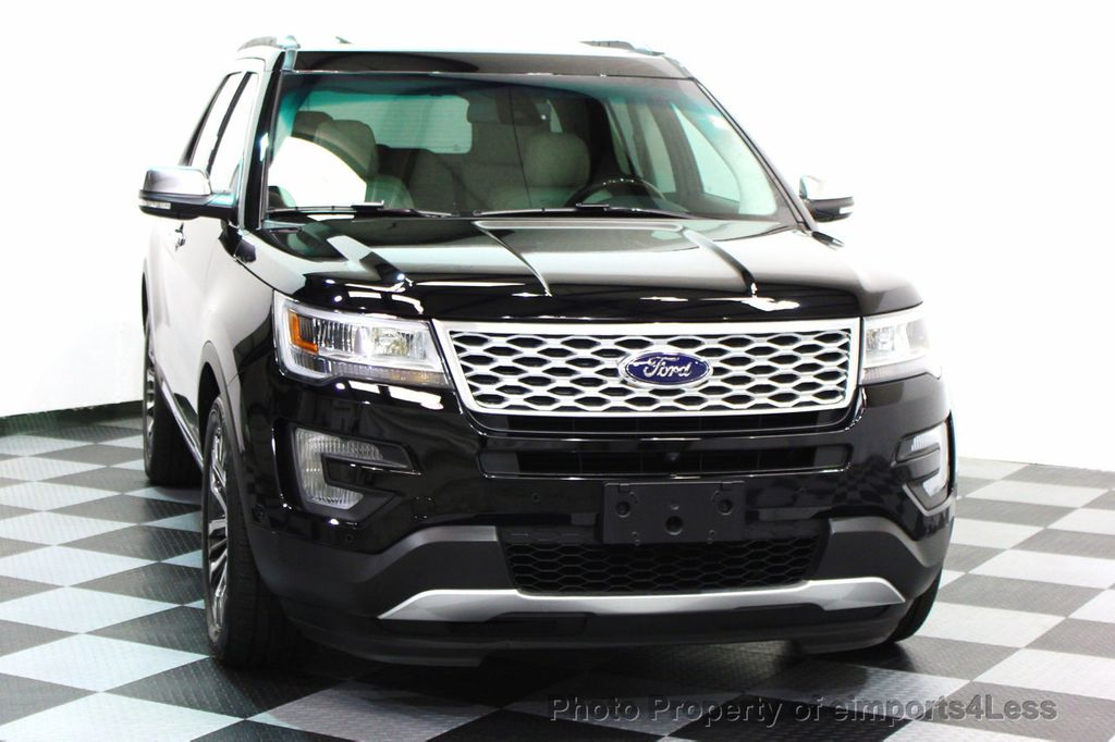 2016 Ford Explorer CERTIFIED EXPLORER 4WD PLATINUM NAVIGATION - 16138399 - 25