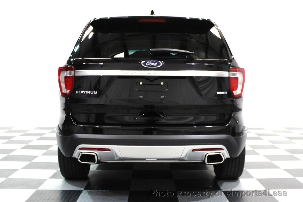 2016 Ford Explorer CERTIFIED EXPLORER 4WD PLATINUM NAVIGATION - 16138399 - 27