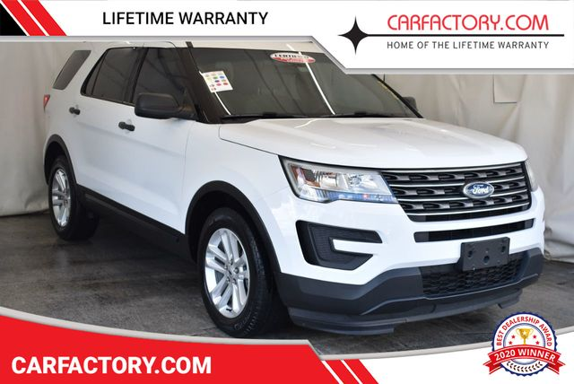 White Ford Explorer >> 2016 Used Ford Explorer Fwd 4dr At Car Factory Outlet Serving Miami Dade Broward Palm Beach Collier And Monroe County Fl Iid 18122109