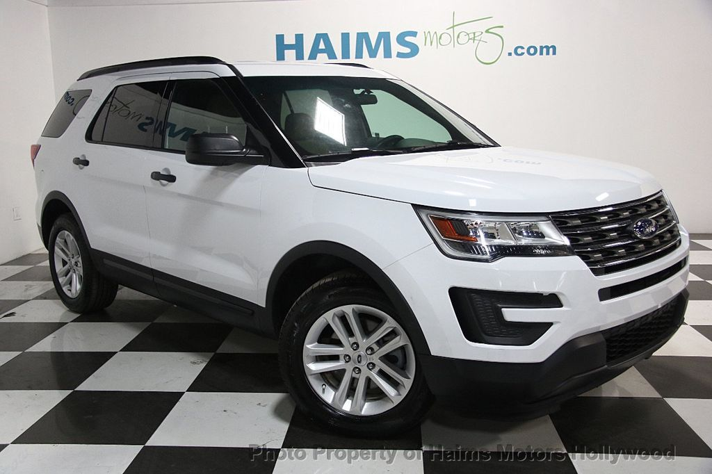 2016 Used Ford Explorer Fwd 4dr At Haims Motors Ft Lauderdale Serving Lauderdale Lakes Fl Iid