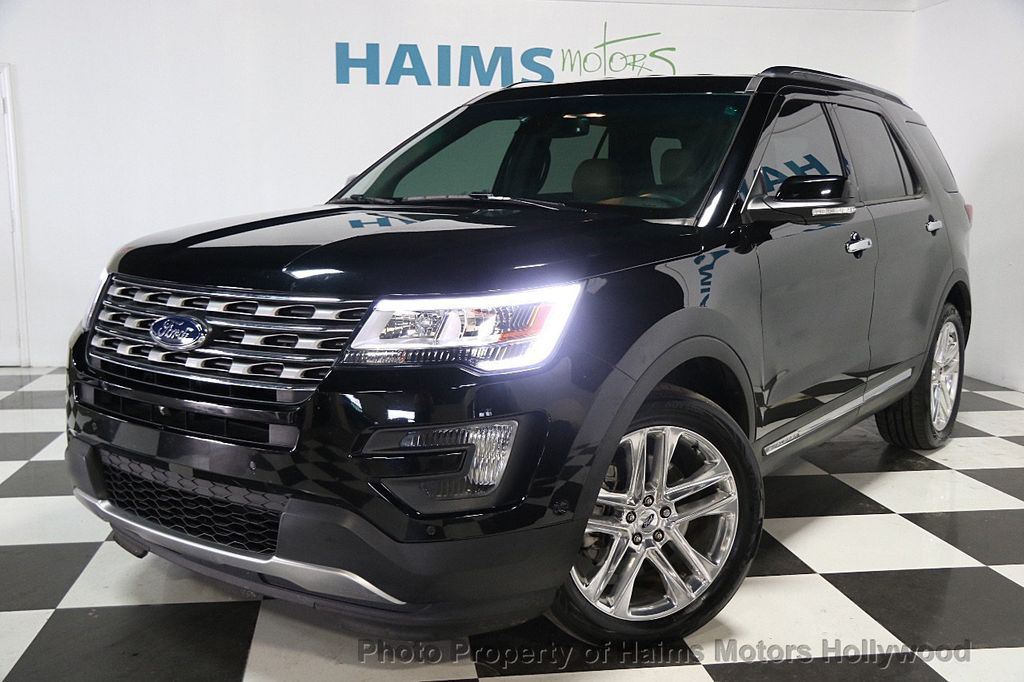 2016 Used Ford Explorer Fwd 4dr Limited At Haims Motors Serving Fort Lauderdale Hollywood