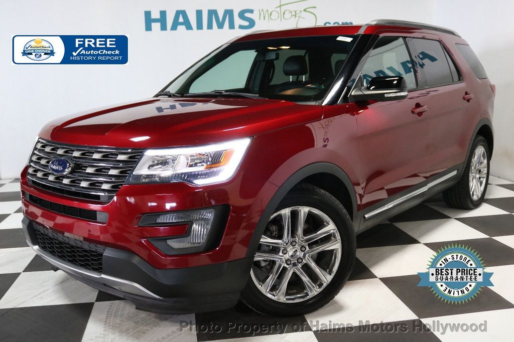 2016 Ford Explorer Fwd 4dr Xlt Suv For Sale Hollywood Fl 20 977 Motorcar Com
