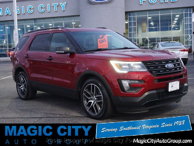 Used Cars Lynchburg Va >> 2016 Used Ford Explorer Sport at Magic City Auto Group ...