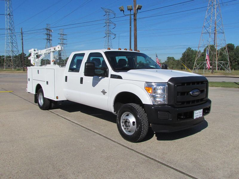 2016 Ford F350 Mechanics Service Truck 4x4 - 17603917 - 1