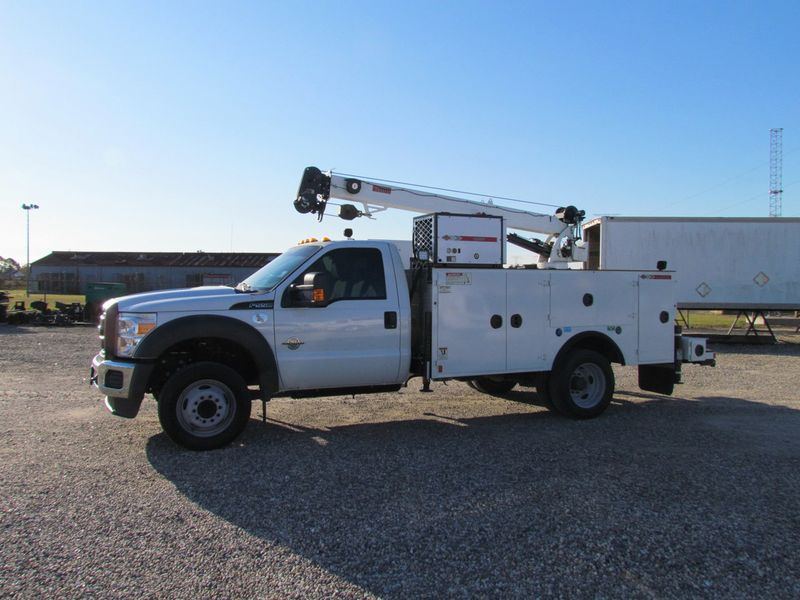 2016 Ford F550 Mechanics Service Truck 4x2 - 17136261 - 2