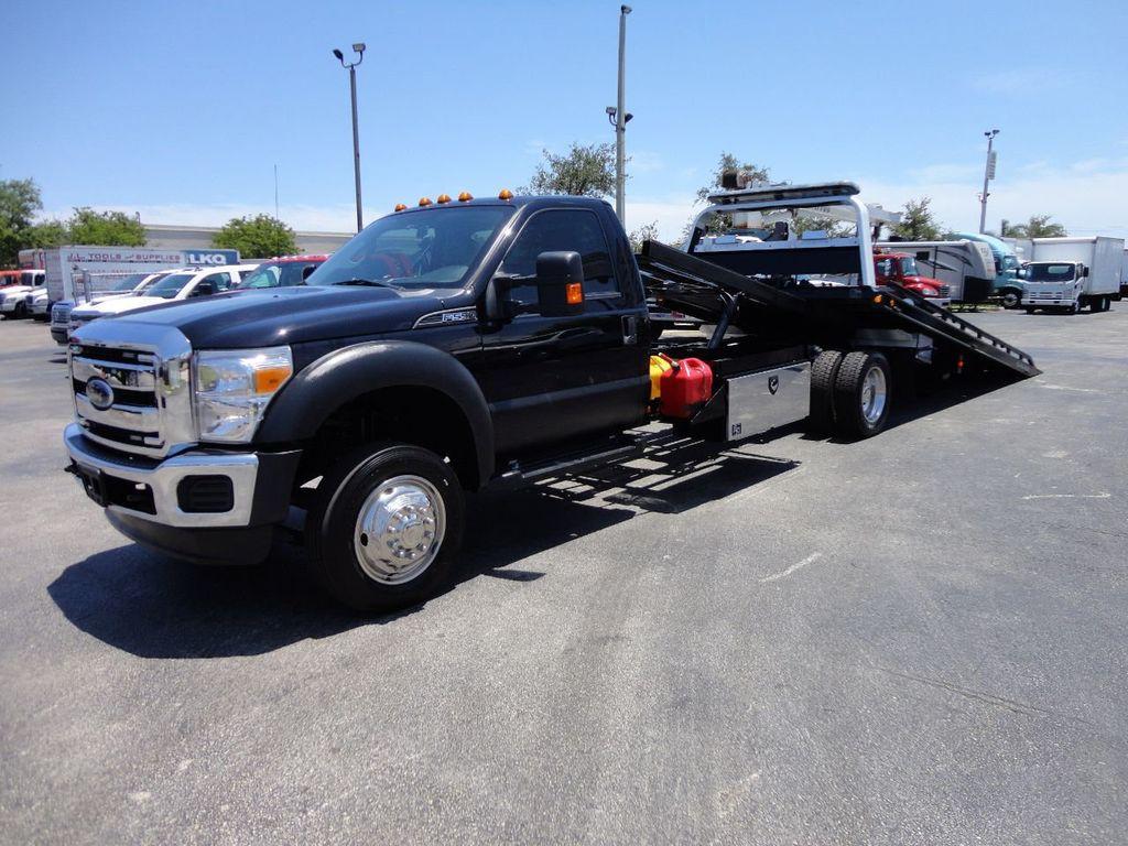 2016 Ford F550 REG CAB 4X2 19.5FT (LCG) CHEVRON ROLLBACK TOW TRUCK - 17609053 - 0