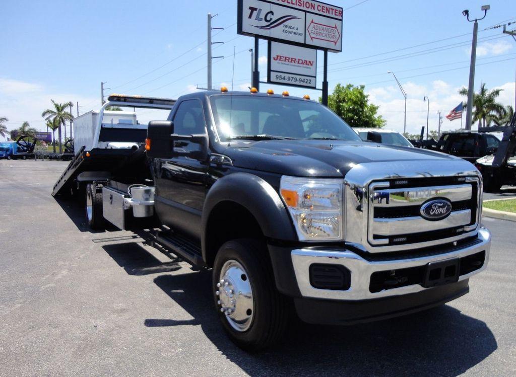 2016 Ford F550 REG CAB 4X2 19.5FT (LCG) CHEVRON ROLLBACK TOW TRUCK - 17609053 - 3