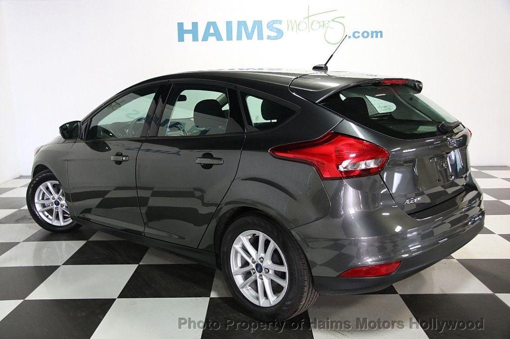 2016 used ford focus 5dr hatchback se at haims motors. Black Bedroom Furniture Sets. Home Design Ideas