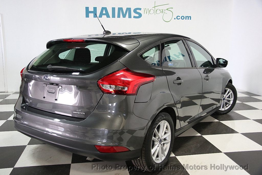 2016 used ford focus 5dr hatchback se at haims motors serving fort lauderdale hollywood miami. Black Bedroom Furniture Sets. Home Design Ideas