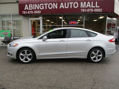 2016 Ford Fusion 2016 FORD FUSION SE CARFAX ONE OWNER Sedan