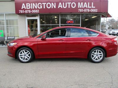 2016 Ford Fusion 2016 FORD FUSION SE ECOBOOST CARFAX ONE OWNER Sedan