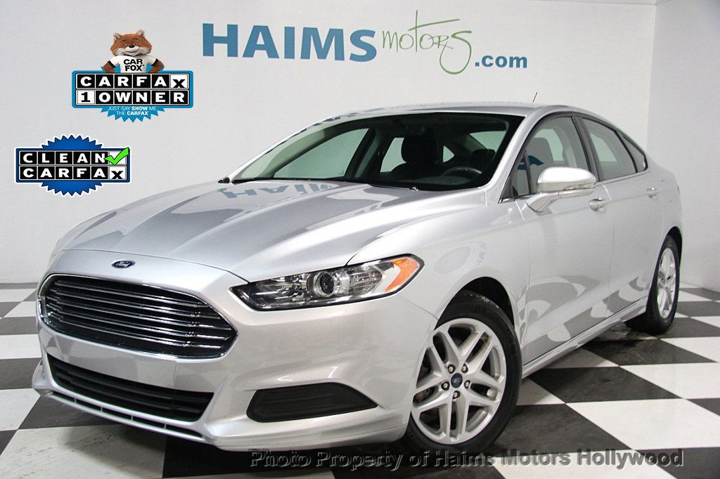 Ford Dealer Inventory Search >> 2016 Used Ford Fusion 4dr Sedan SE FWD at Haims Motors Serving Fort Lauderdale, Hollywood, Miami ...