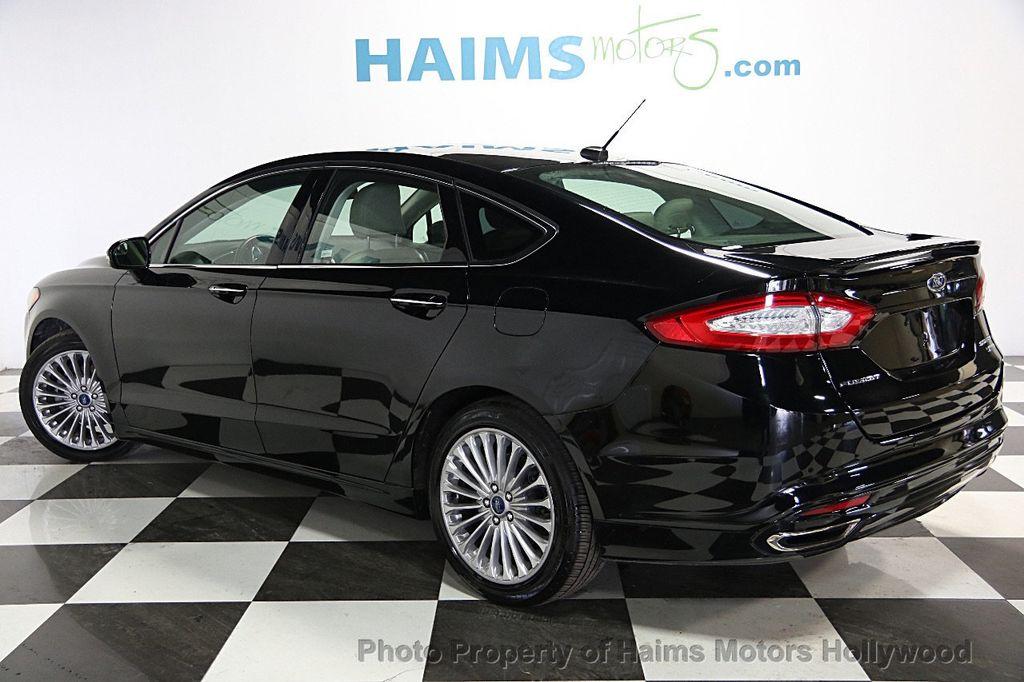 2016 used ford fusion 4dr sedan titanium fwd at haims. Black Bedroom Furniture Sets. Home Design Ideas