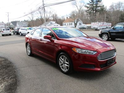 2016 Ford Fusion SE ECOBOOST CARFAX ONE OWNER - Click to see full-size photo viewer