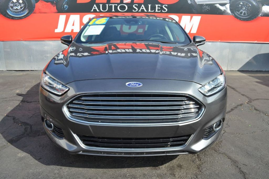 2016 Ford Fusion Energi Ford Fusion Energi Plug-In Hybrid Navigation Backup Camera  - 18253788 - 1
