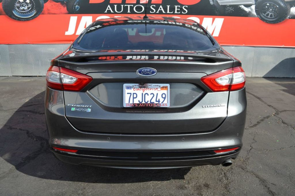 2016 Ford Fusion Energi Ford Fusion Energi Plug-In Hybrid Navigation Backup Camera  - 18253788 - 4