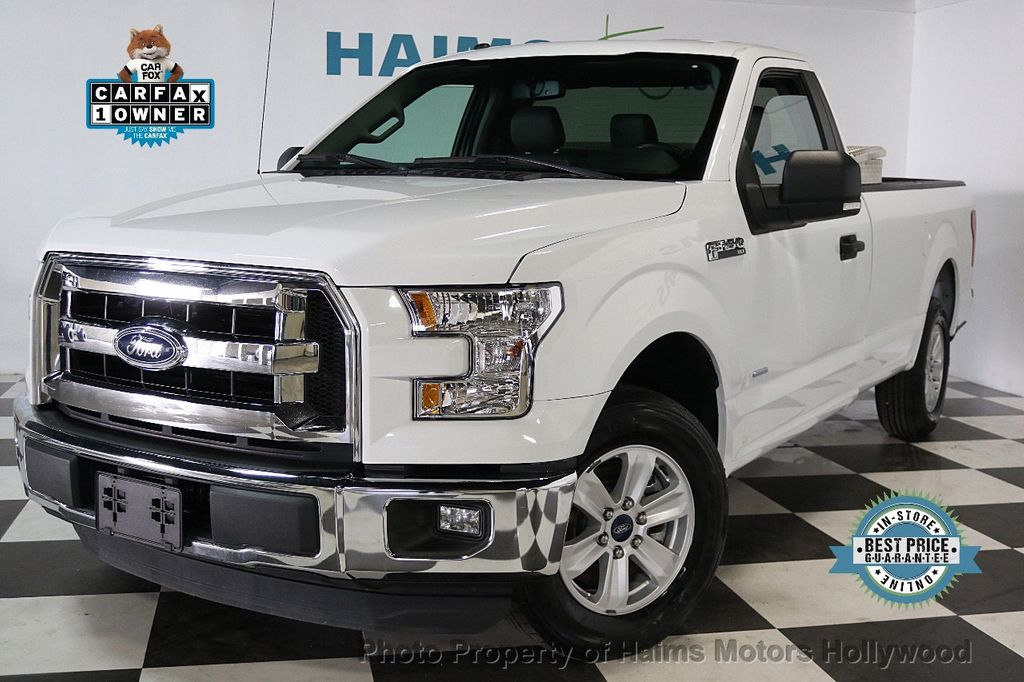 2016 used ford f 150 2wd reg cab 122 5 xlt at haims motors serving fort lauderdale hollywood. Black Bedroom Furniture Sets. Home Design Ideas