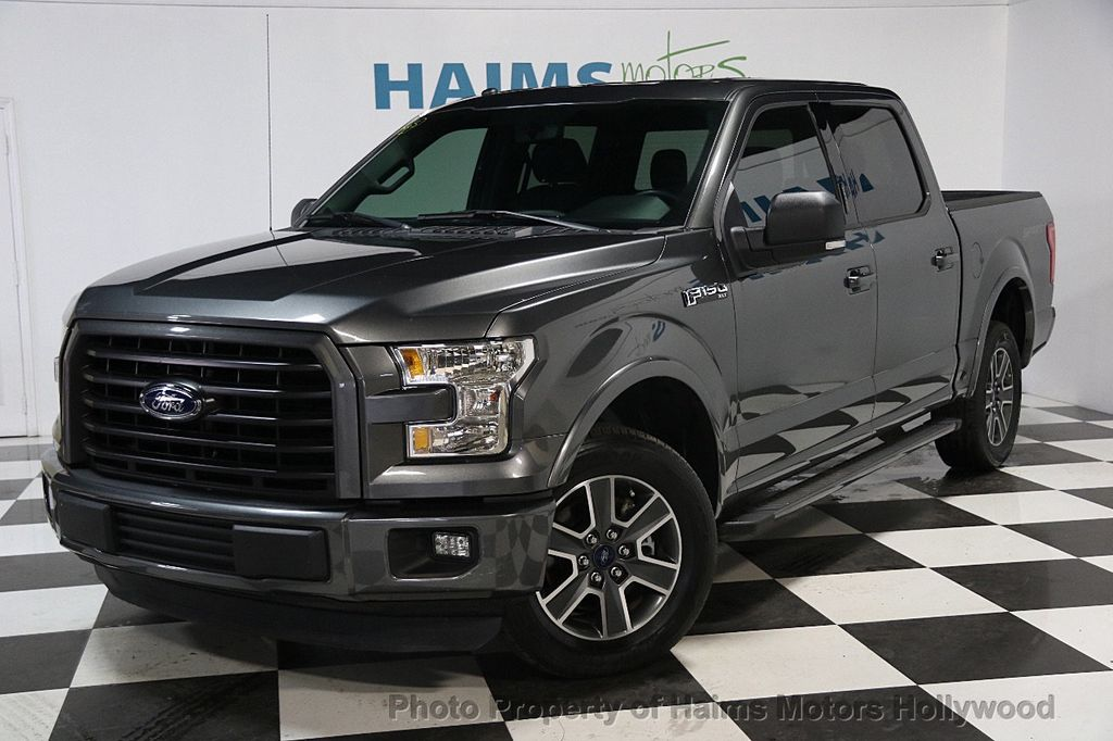 "2016 Ford F-150 2WD SuperCab 163"" XLT - 16514859 - 0"