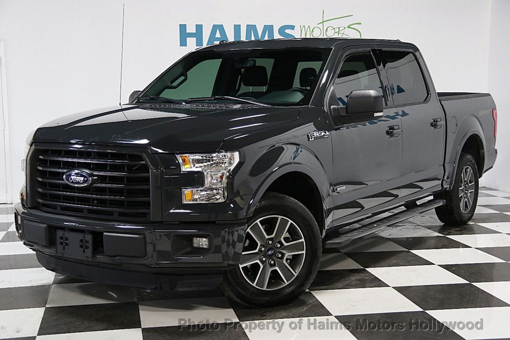 2016 used ford f 150 2wd supercrew 145 xlt at haims motors serving fort lauderdale hollywood. Black Bedroom Furniture Sets. Home Design Ideas