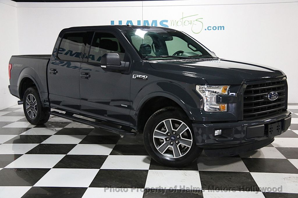 2016 used ford f 150 2wd supercrew 145 xlt at haims motors ft lauderdale serving lauderdale. Black Bedroom Furniture Sets. Home Design Ideas