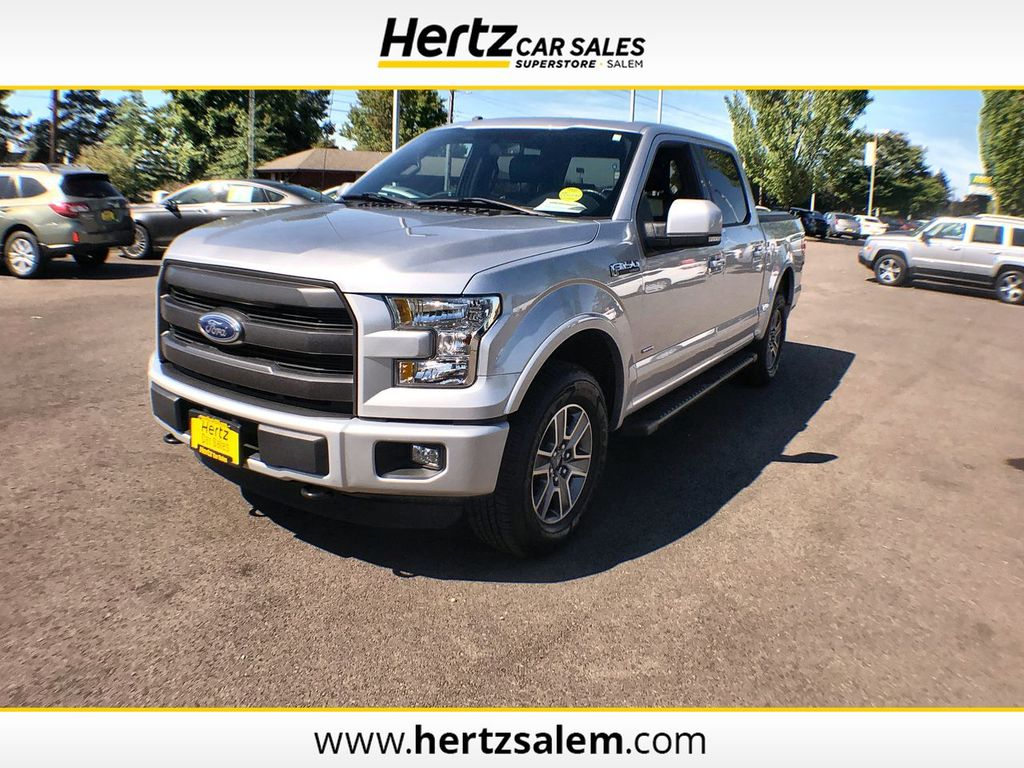 2016 Ford F 150 Release Date >> 2016 Used Ford F 150 4wd Supercrew 145 Lariat At Hertz Car Sales Of Salem Or Iid 19219971