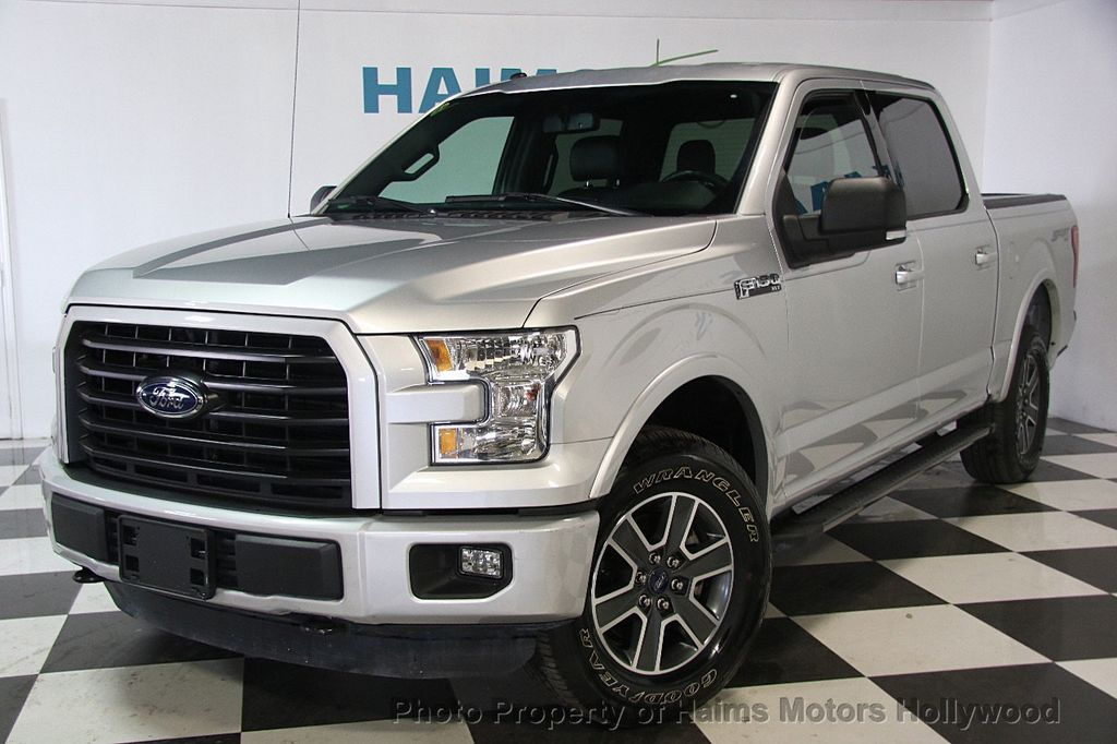 "2016 Used Ford F 150 4WD SuperCrew 145"" XLT at Haims Motors Serving"