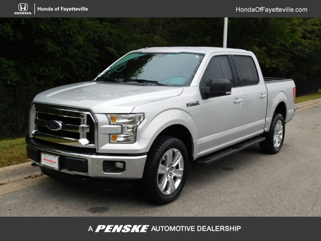 "2016 Ford F-150 4WD SuperCrew 145"" XLT - 18103717 - 0"