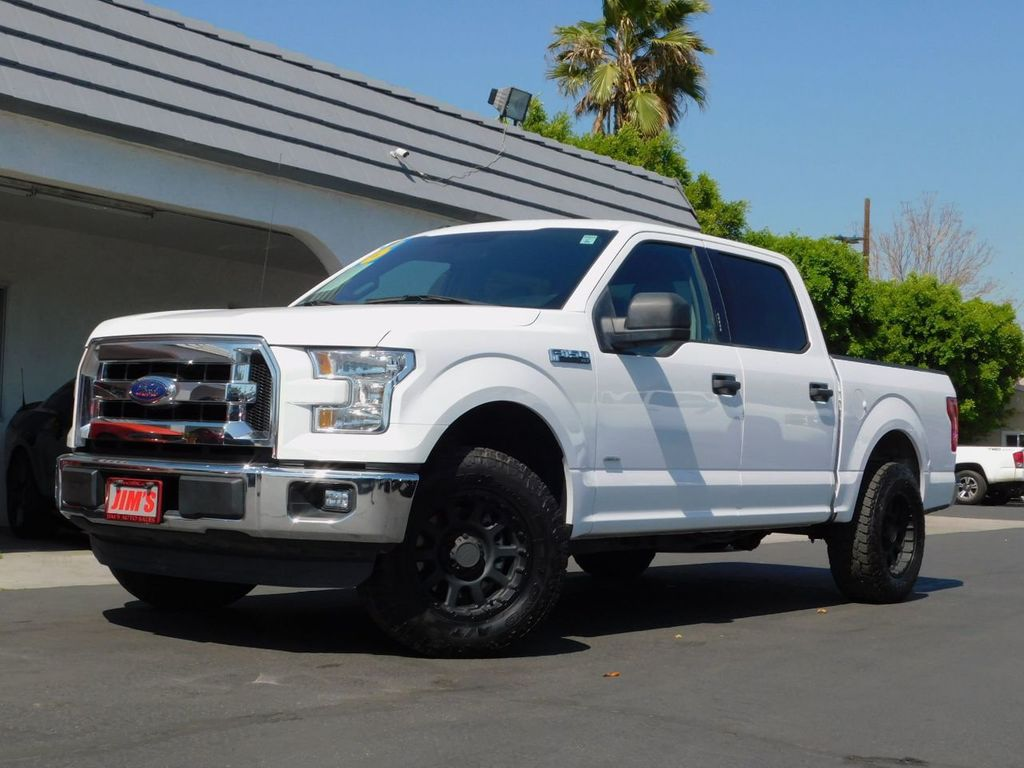 2016 Ford F-150 Ford F150 SuperCrew Cab XLT EcoBoost Twin Turbo - 17652255 - 0