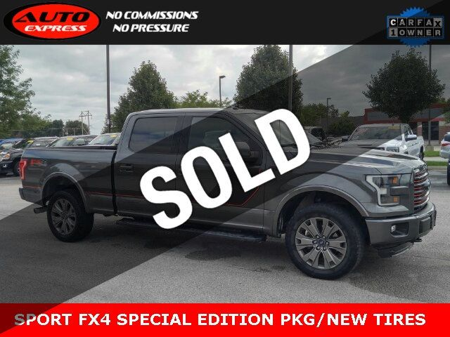 2016 Used Ford F 150 Lariat Special Edition Fx4 Sport Pkgs Crew Cab 4x4 Navigation At Auto Express Lafayette In Iid 19288575